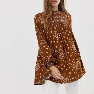 Free People Flowers in Her Hair Tunic